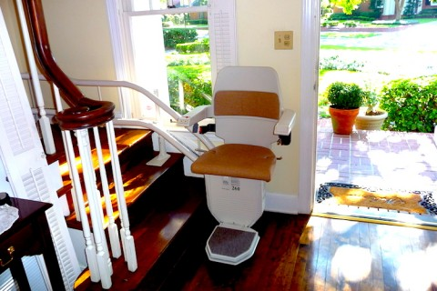 We buy the Stannah 260 stairlift