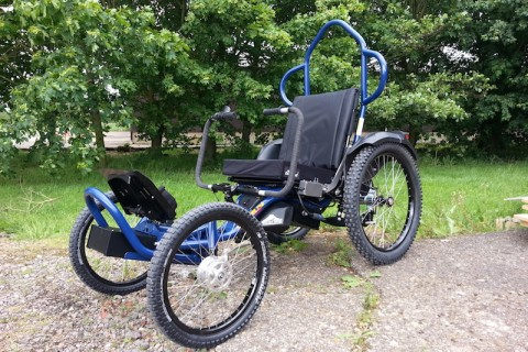 The Boma 7 all terrain / off road wheelchair from Magic Mobility Ltd