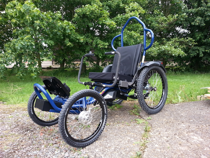 Boma 7 All Terrain Off Road Wheelchair From Magic