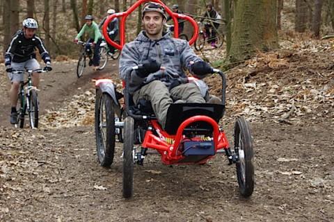 Mountain biking on your Boma 7 wheelchair