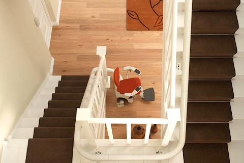 Flow 2 stairlift from Magic Mobility Ltd