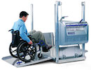 Portable wheelchair lift hire from Magic Mobility Ltd