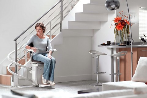 Reconditioned Stannah stairlift from Magic Mobility Ltd