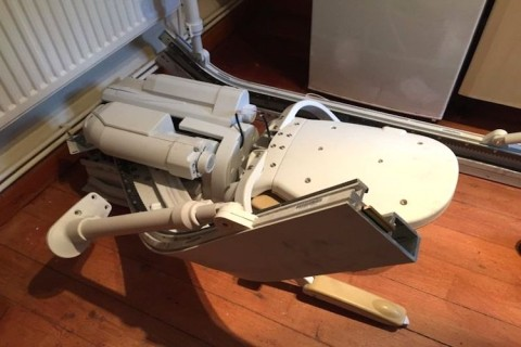 Stairlift removal and disposal