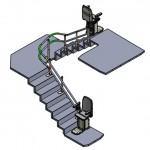 Stairlift CAD drawing