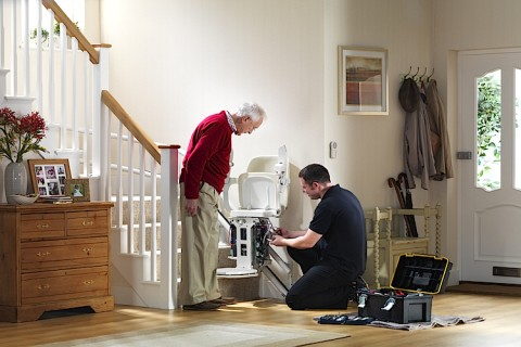Cheap stairlift repairs and servicing
