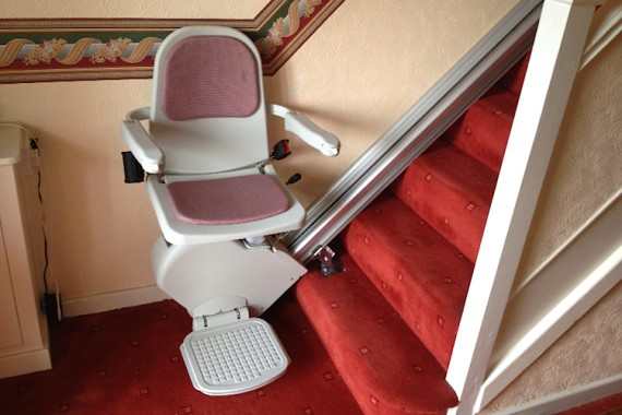Brooks Lincoln stairlift from Magic Mobility Ltd