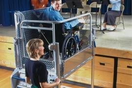 Portable Wheelchair Lift