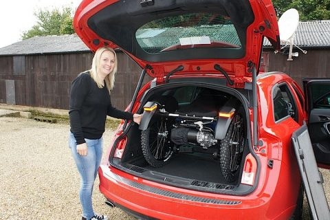 Boma 7 will fit in the back of an Vauxhall Astra estate