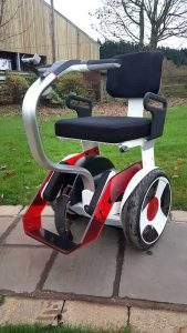 Used Ninebot / Segway powered wheelchair for sale