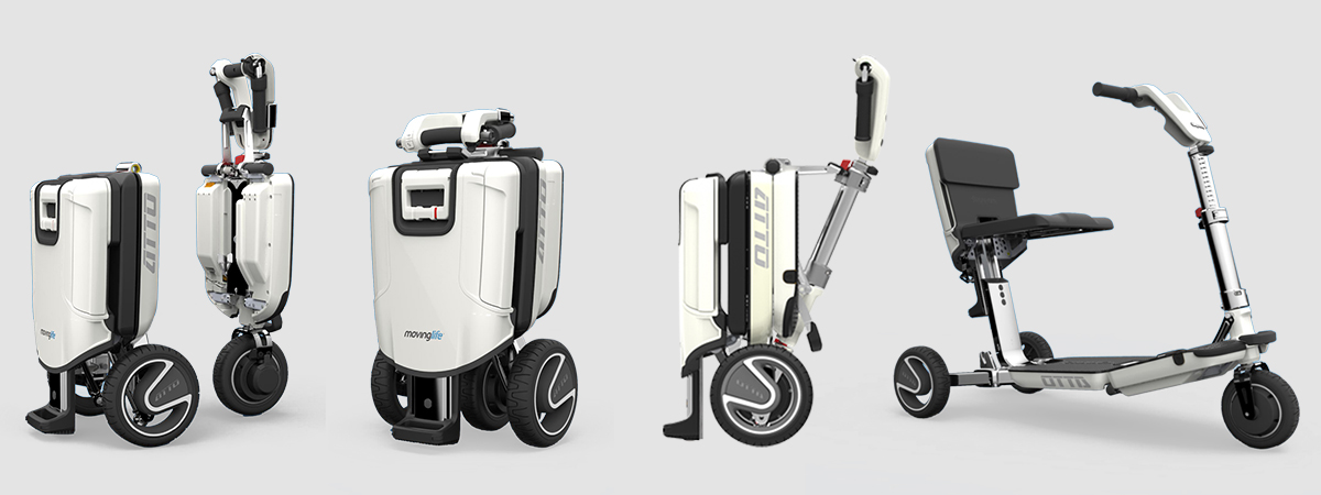 All folding modes of ATTO Freedom scooter