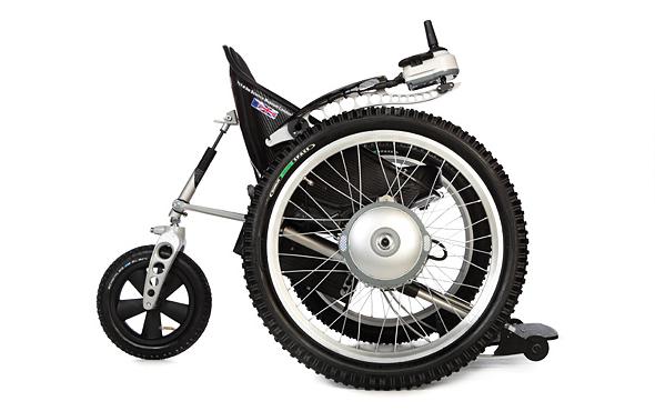 Trekinetic gte powered all terrain wheelchair