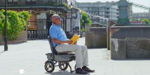 Look out for the eFOLDi folding scooter TV advert commercial