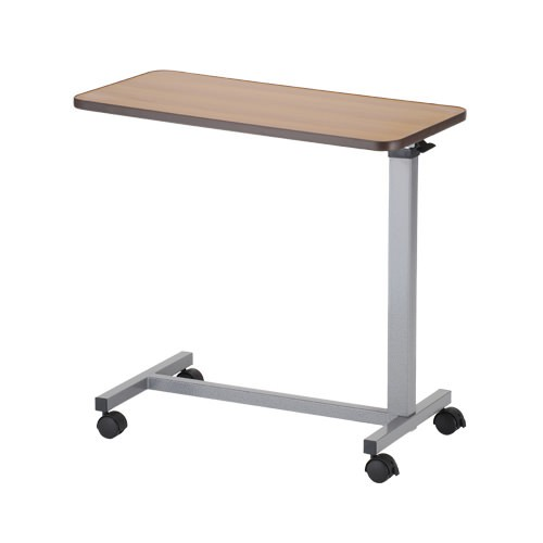Portable tilting over bed table for hire