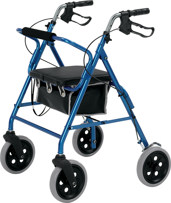 Rollator walker for hire