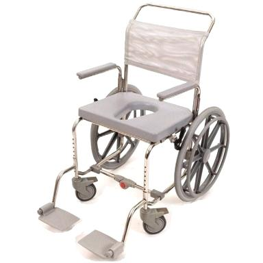 Commode shower chair wheelchair for hire