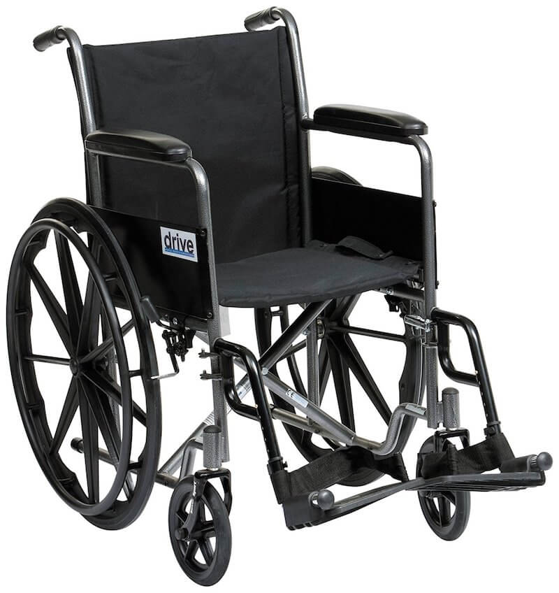 Cheap lightweight manual wheelchair