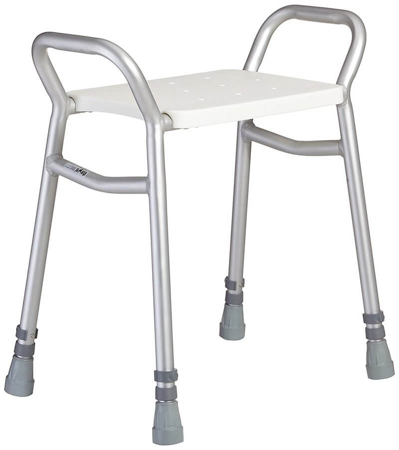 Adjustable shower seat