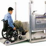 Portable wheelchair lift hire for indoors and outdoors UK