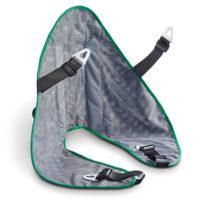 Mesh sling for car hoist